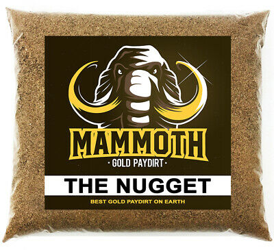 MAMMOTH PAYDIRT 'THE NUGGET' - Gold Paydirt Concentrate Panning Pay Dirt