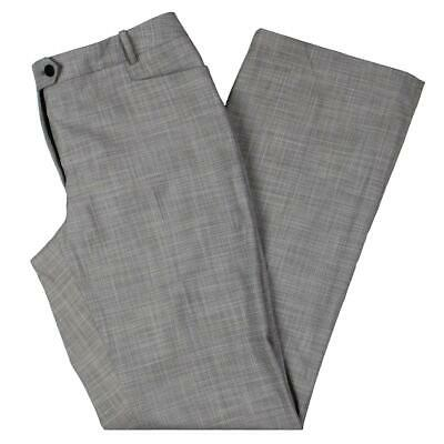Calvin Klein Womens Gray Modern Fit Mid-Rise Workwear Pants Trousers 8 BHFO 7908