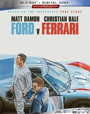 Ford V Ferrari New Blu-Ray/Dvd