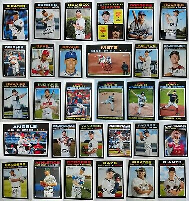 2020 Topps Heritage Baseball Card Complete Your Set You U Pick List 251-500