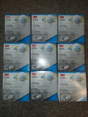 3M N95 8210PLUS Performance Respirator Face Mask 90 COUNT Fast Shipping
