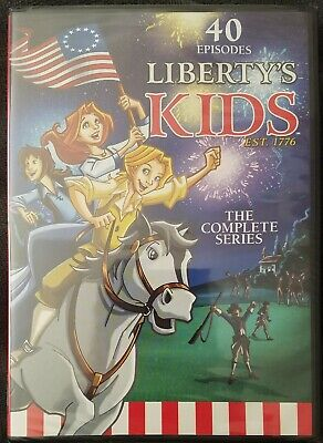 Liberty's Kids - The Complete Series (DVD, 2013, 4-Disc Set)