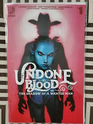 Undone by Blood # 1 Incentive Ratio Variant  1st print NM Aftershock