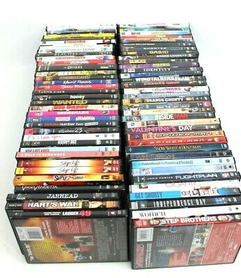You Pick 1 DVD Factory Sealed New Lot of Movies All Are New Wrapped
