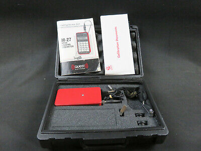Quest Electronics M-27 Noise Logging Dosimeter with Manual and Case