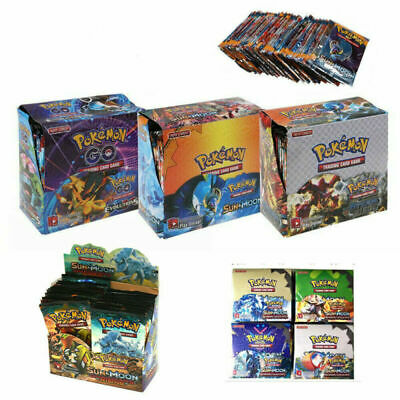324pcs Cards Pokemon TCG Booster English Edition Break Point 36Packs Xmas Gifts