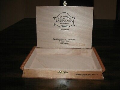 Solid Cedar San Cristobal Prado Cigar Box