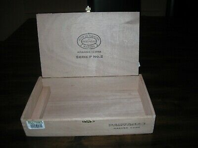 Large Solid Cedar Partagas P 2 Cigar Box -perfect for cigar box guitar