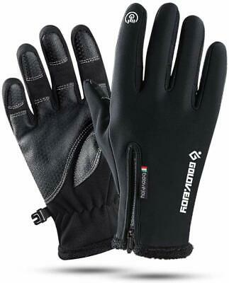 Mens Winter Warm Golovejoy Gloves Touch Screen Gloves- FAST USA SHIP
