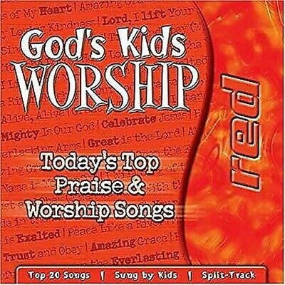God's Kids Worship Red CD by Tommy Nelson Publishers
