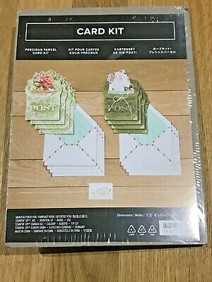 Stampin' Up! Retired Precious Parcel Card Kit Brand New