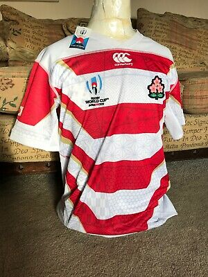 Canterbury JAPAN L Rugby Shirt 2019 Mens WORLD CUP JERSEY SOLD OUT BNWT Jersey