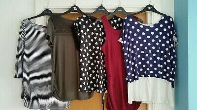 Maternity clothes bundle size 12 ASOS Dorothy perkins New Look Red Herring