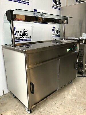 Commercial Hot Cupboard And Heated Gantry