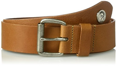 POST/&CO women/'s belt bisque used buckle zama 100/% leather MADE IN ITALY