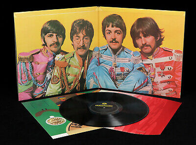 The Beatles - Sgt. Pepper's. UK 1967 1st *STEREO* Press Parlophone LP EX+/MINT-