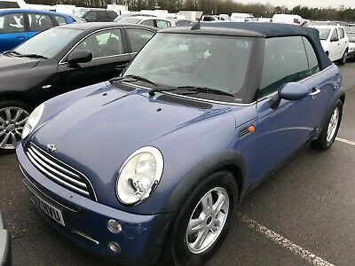 2007/57 Mini Cooper 1.6 - Convertible, 70K Miles, Alloys, P/Sensrs