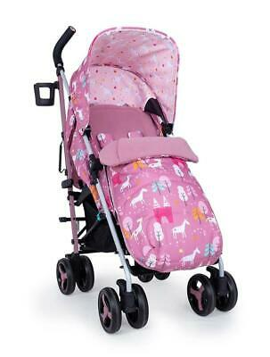 Brand new Cosatto supa 3 pushchair Dusky Unicorn Land with Footmuff & Raincover