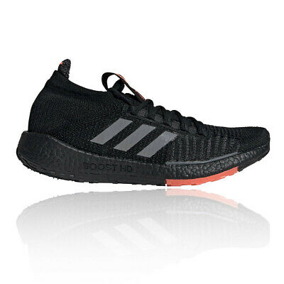 adidas Mens PulseBOOST HD Running Shoes Trainers Sneakers Black Sports