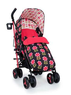 Brand new Cosatto supa 3 pushchair Fairy Garden Daisy with Footmuff & Raincover
