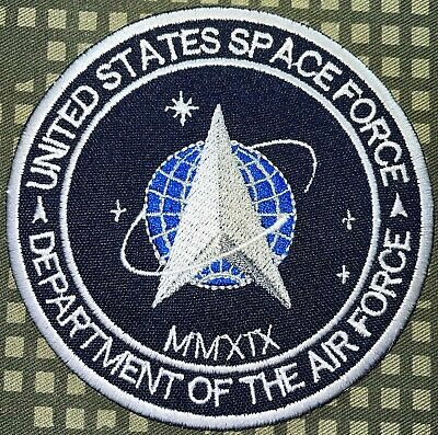 USAF US space Force Department of The Air Force Patch Hook & Sew Repro New A492