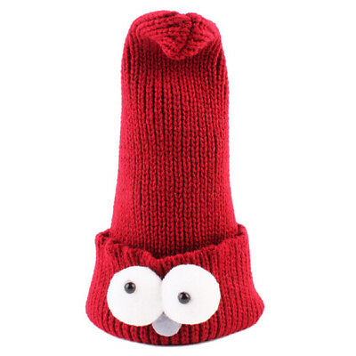 Big Eyes Toddler Kid Girl&Boy Baby Infant Winter Warm Knit Hat Beanie Hat 6N