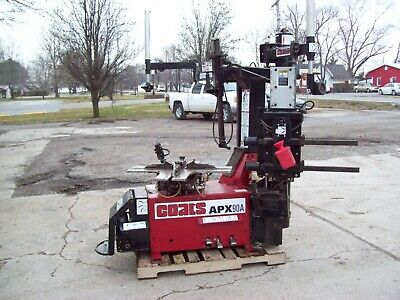 Coats Apx90A Tire Changer Machine Bead Breaker Air Powered Table Bead Seater