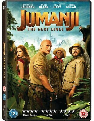 Jumanji: The Next Level [DVD] RELEASED 13/04/2020
