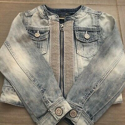 Next Girls Denim Jacket Age 4 Yrs