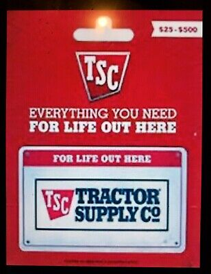 $100 Tractor Supply Co Gift Card
