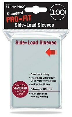 100 Sleeves Ultra PRO Magic PRO FIT SIDE LOAD Bustine Protettive
