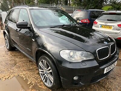 2012 Bmw X5 3.0 Xdrive 30D M Sport Black 1Owner, Satnav, Leather, P/Glass