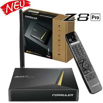 Formuler Z8 4K UHD HDR Android 7 Media Player H.265 HEVC Dual WLAN