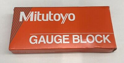 "New MITUTOYO 611202-531 2.00"" Gage Block Rectangular Steel ASME 0 Metal Working"