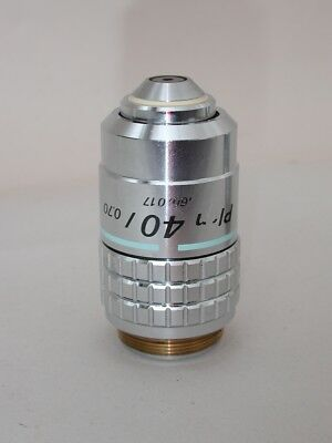 Nikon CFN Plan 40x Microscope Objective for Labophot, Optiphot