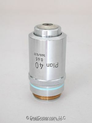 Nikon Plan 40x Microscope Objective RMS, Labophot, Optiphot