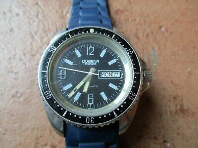 True Vintage*Dugena Monza*Swiss 542  553 27 844*Stainless Steel*Automatic*Waterr