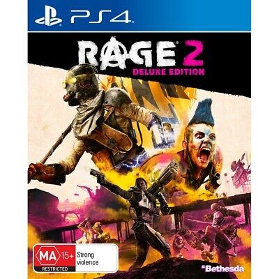Rage 2 Deluxe Edition - PlayStation 4 - BRAND NEW