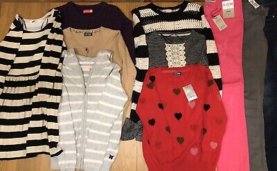 Girls Clothes Bundle - Age 11-12 Years (10 Items)