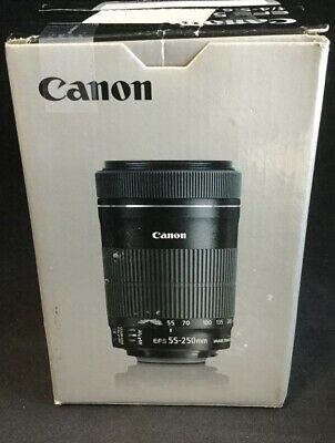 Canon EF-S 55-250mm f/4.0-5.6 IS Lens #4356.