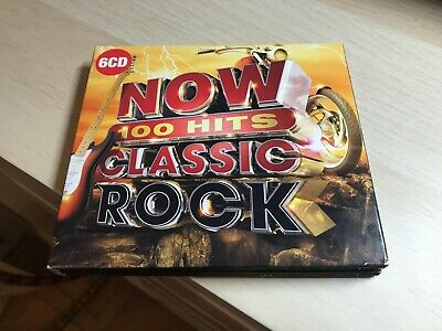 Now 100 Hits Classic Rock 6 CD set excellent condition CD