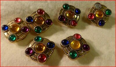 Group of 6 Button Covers