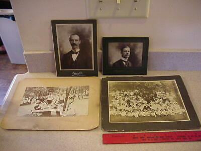 Antique Vintage Turn Of The Century Photos, Picnic, Large Family, Harrisburg Pa.