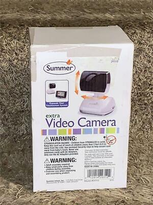 Summer Infant Add-on Video Camera For Touchscreen Digital Baby Monitor 29310