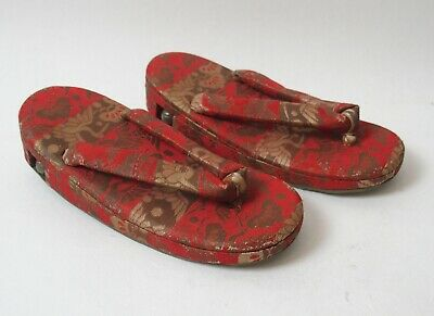 Pretty pair of vintage Japanese lady's shoes with bells