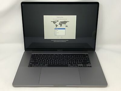 MacBook Pro 16-inch Space Gray 2019 2.6GHz i7 16GB 512GB SSD Excellent Condition