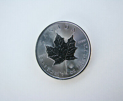 Silver Maple Leaf Coin 1 oz .9999 Canada Fine Silver Canadian Coin 2014