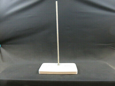 FISHER Porcelain Ceramic Ring Support Lab Stand 13 x 7 x 1""