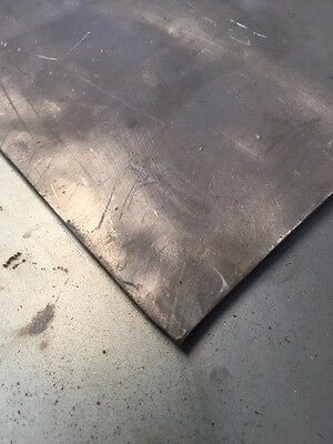 "Sheet Lead  (1/8"" x 12"" x 24"") App. 16 Pounds of 99.9% Pure lead"
