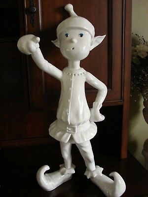 """Life Style Forms Display Large 30"""" Tall Christmas Elf Store Display Sign Holder"""